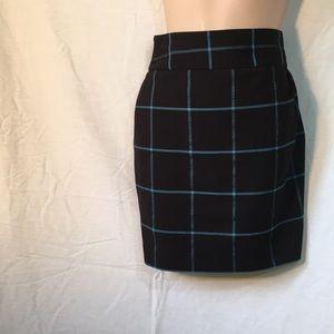 Ann Taylor Loft Black skirt 12